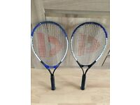 Pair of Tennis Racquets