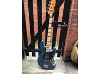 Modified Squier Vintage Modified Jazz Bass Guitar