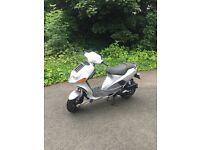 Very rear italjet formula 125cc twin cylinder 2 stroke not gilera runner typhoon piaggio zip 172 180