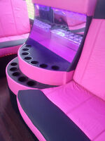 Pink party Buses toronto GTA and surronding areas
