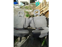 mitsubitshi shogun car seats 2 front and 2 back