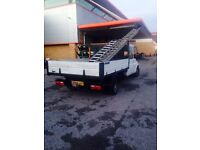 Crewcab ford transit tipper