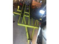 sturdy 3 bike/quad trailer