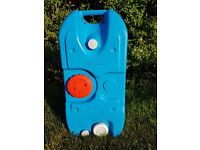Sunncamp Roll Tank 40 litre Waste Water container. Ideal for caravan or motorhome.