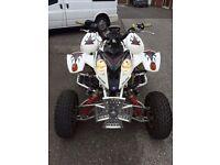 polaris predator 500 road legal quad not raptor grizley 4x4 PCs swap? Car van bike quad cash?
