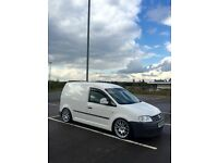 ** 2008 VW CADDY VAN 170 BHP 6 SPEED MANUAL** COILOVERS / BBS CH ALLOYS / REMAPPED **