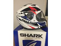 SHARK S700s HELMET XL BOXED ONLY WORN A COUPLE OF TIMES , CAN DELIVER LOCAL