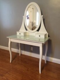 Ikea HEMNES Dressing table with mirror - very good condition