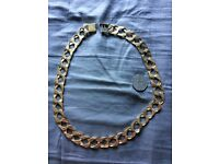 9ct gold chain (swap for road legal mx supermoto or quad )