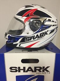 SHARK S700s HELMET XL BOXED ONLY WORN A COUPLE OF TIMES