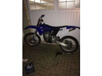 YZ250F Road Registered
