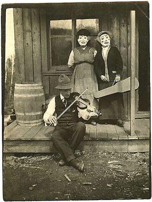 New Art Print of Creepy Back Woods Halloween Scene 8X10  c.1900 - Creepy Halloween 1900
