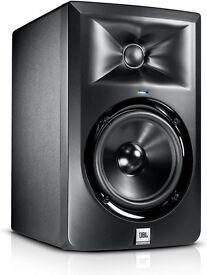 JBL monitors speakers