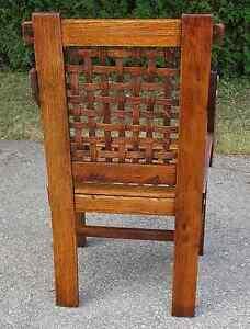 Antique Arts & Crafts Period Oak Chair Kingston Kingston Area image 6