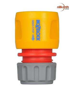 Hozelock Water Stop Connector Fits with 12.5 mm and 15 mm Hoses summer UK Seller