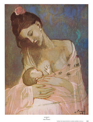 Maternity Art Poster Print by Pablo Picasso, 16x21.5