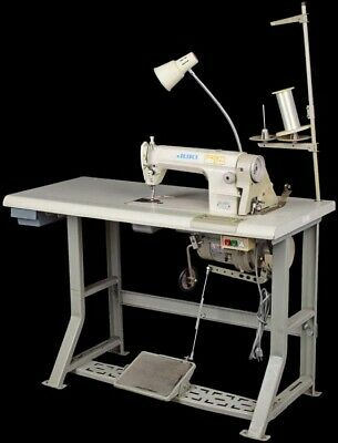 Juki Ddl-8300n Industrial Single Needle Lockstitch Sewing Machine W Table
