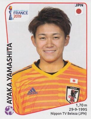 Japan Emi Nakajima Panini Frauen WM 2019 Sticker 321