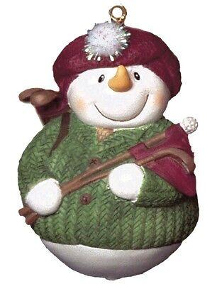 Golf Snowman (GOLF SNOWMAN ORNAMENT, 2 1/2