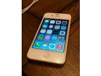 Iphone 4 white o2 16gb