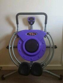 Abtrak workout machine