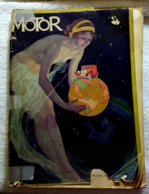 MOTOR Magazine • 1929 ANNUAL SHOW Number • HUGE - 450+ Pages! Great ADS!