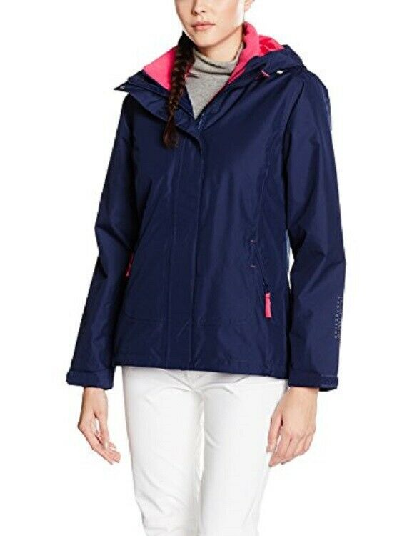 Helly Hansen Women's Squamish CIS (3-in-1) Jacket Evening Blue Pink XL Clothing, Shoes & Accessories