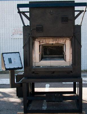 Cooley Bl-4af Heat Treating Box Furnace 2000f 15 W X 12 H X 30 L