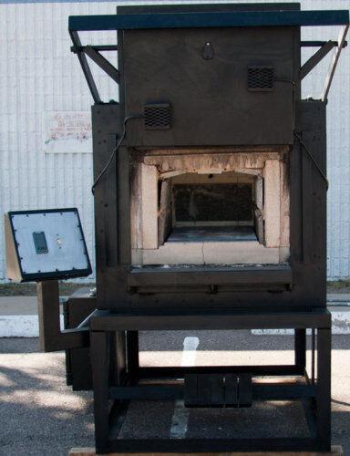 "Cooley BL-4AF Heat Treating Box Furnace 2000°F 15"" W x 12"" H x 30"" L"