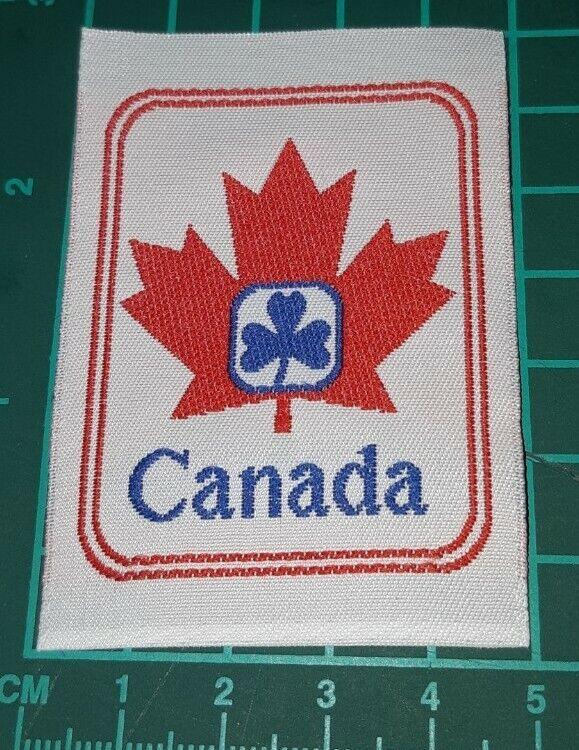 Girl Guides Canada Maple Leaf Badge