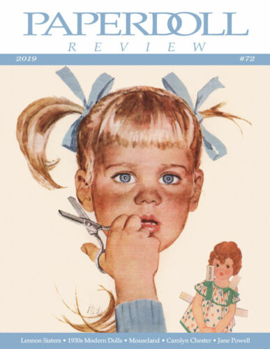 Paperdoll Review Magazine Issue #72, 2019 - Second FULL COLOR issue!