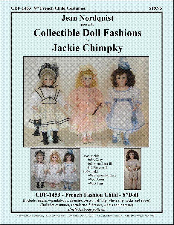 "8"" Fashion Child Pattern CDF1453"