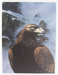 Randy Fehr Golden Eagle Limited edition print SIGNED / Numbered