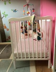 Baby Cot and Mattress mint condition