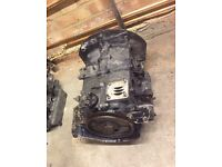 Air cooled VW Volkswagen Type 2 engine block 1600 aircooled