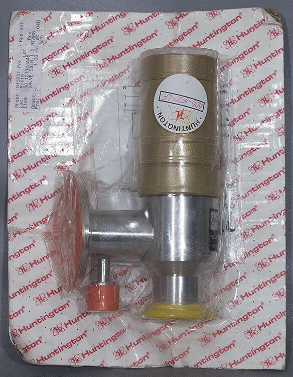 "New Huntington Mechanical Aoo-1520-lf 1.5"" Isolation Valve, Asm 50-123343a48 A00"