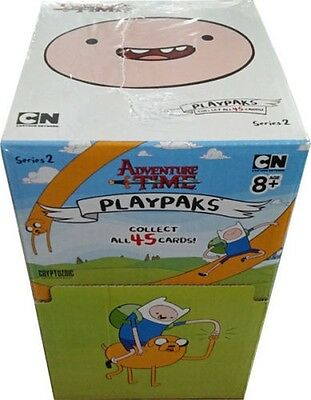 ADVENTURE TIME PLAYPAKS SERIES 2 SEALED BOX OF 24 PACKS #sjan17-39