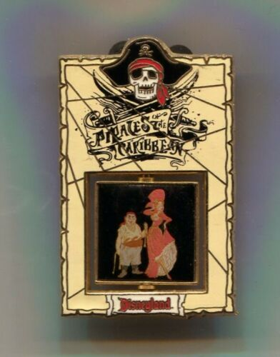 DLR - Pirates of the Caribbean Bride Spinner Pin LE 1500