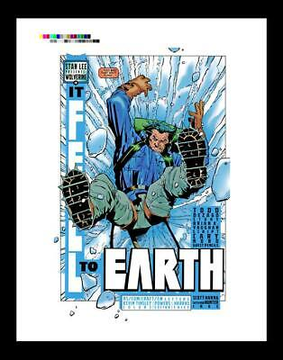 Cary Nord Wolverine #131 Rare Production Art Pg 2