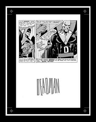 Neal Adams Brave and the Bold #79 Rare Production Art Pg 24 Monotone