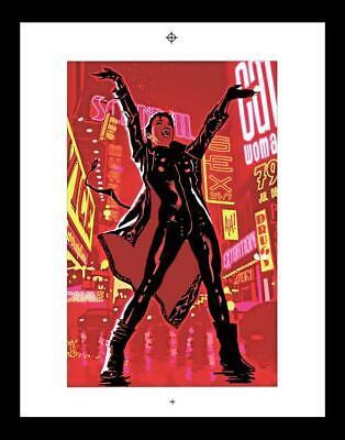Adam Hughes Catwoman #79 Rare Production Art Cover