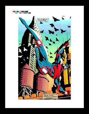 Scott McDaniel Daredevil #325 Rare Production Art Pg 28
