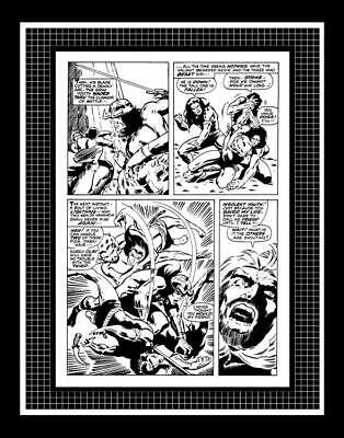 Barry Windor-Smith Conan the Barbarian #1 Rare Production Art Pg 4