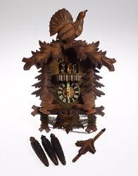 Vintage Cuckoo Clock A SCHNEIDER SOHN BLACK FOREST CUCKOO CLOCK c197... Lot 8014