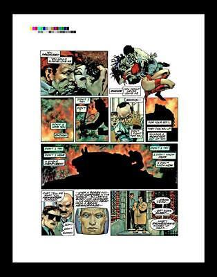 Frank Miller Elektra Lives Again Rare Production Art Pg 50
