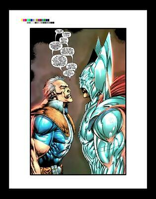 Rob Liefeld X-Force #5 Rare Production Art Pg 8