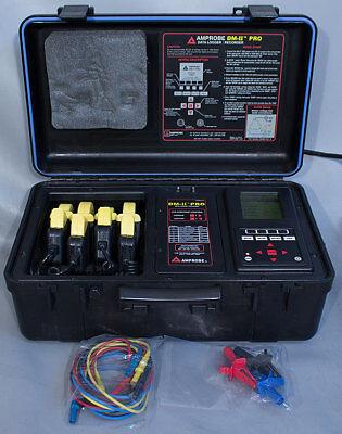 Amprobe Dmii-pro Data Logger Recorder Ammetervoltmeter Ampvolt Power Meter