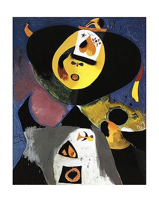 Joan Miro Portrait No. 1 Poster Kunstdruck Bild 71x56cm