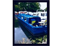 Live aboard / Houseboat / Narrowboat / Canal Boat with London Mooring / Hackney E5 9BL