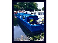Live aboard / Houseboat / Narrowboat / Canal Boat with London Mooring in Hackney